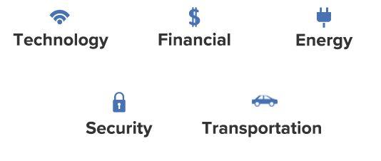 5G sectors