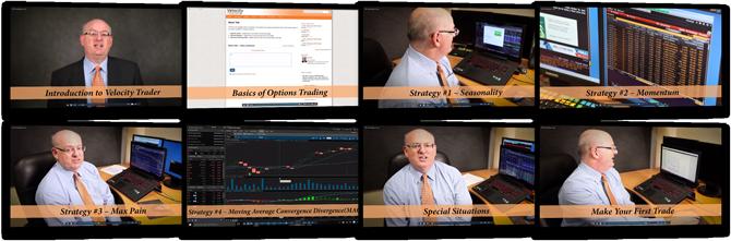 video training screenshots